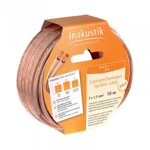 InAkustik Star 2x 2,5 mm hangfal kábel, 10 méter-1