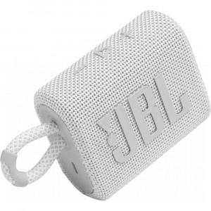 JBL GO 3 hordozható bluetooth hangszóró, fehér-1