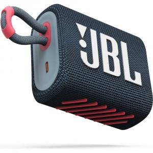 JBL GO 3 hordozható bluetooth hangszóró, korall-1