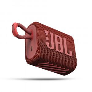 JBL GO 3 hordozható bluetooth hangszóró, piros-1