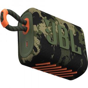 JBL GO 3 hordozható bluetooth hangszóró, squad-1