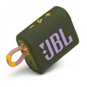 JBL GO 3 hordozható bluetooth hangszóró, zöld-1