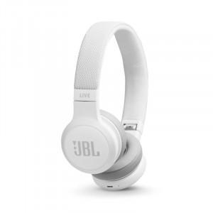 JBL Live 400BT bluetooth fejhallgató, fehér-6