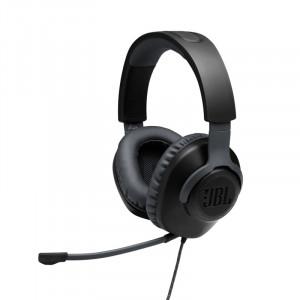 JBL Quantum 100 Gamer fejhallgató, fekete-1