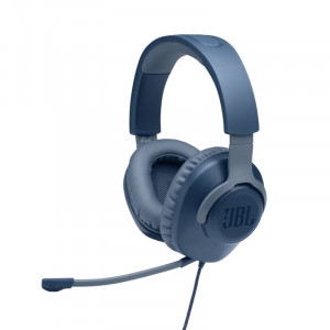 JBL Quantum 100 Gamer fejhallgató, kék-1