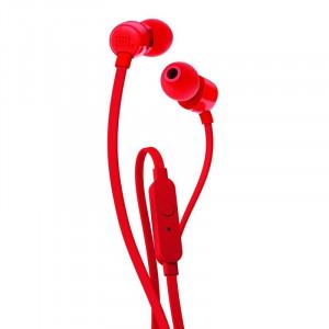 JBL T110 fülhallgató, piros-1