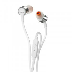 JBL T210 fülhallgató, ezüst-1