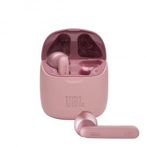 JBL T225TWS wireless fülhallgató, pink-1