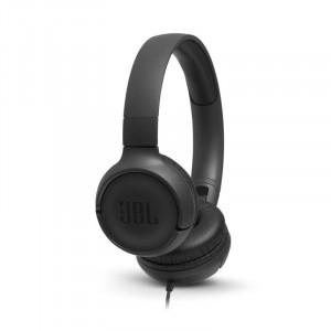 JBL T500 fejhallgató, fekete-1