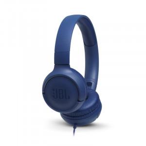 JBL T500 fejhallgató, kék-1