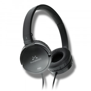 SoundMAGIC P22C vezetékes On-Ear fejhallgató, fekete-1