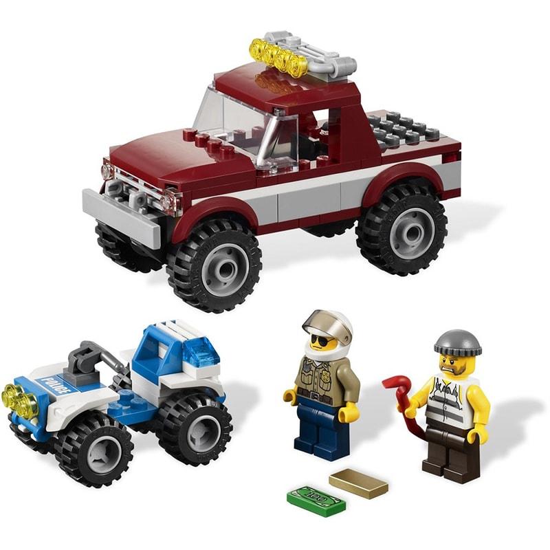 Lego City 4437 Üldöző rendőrautó