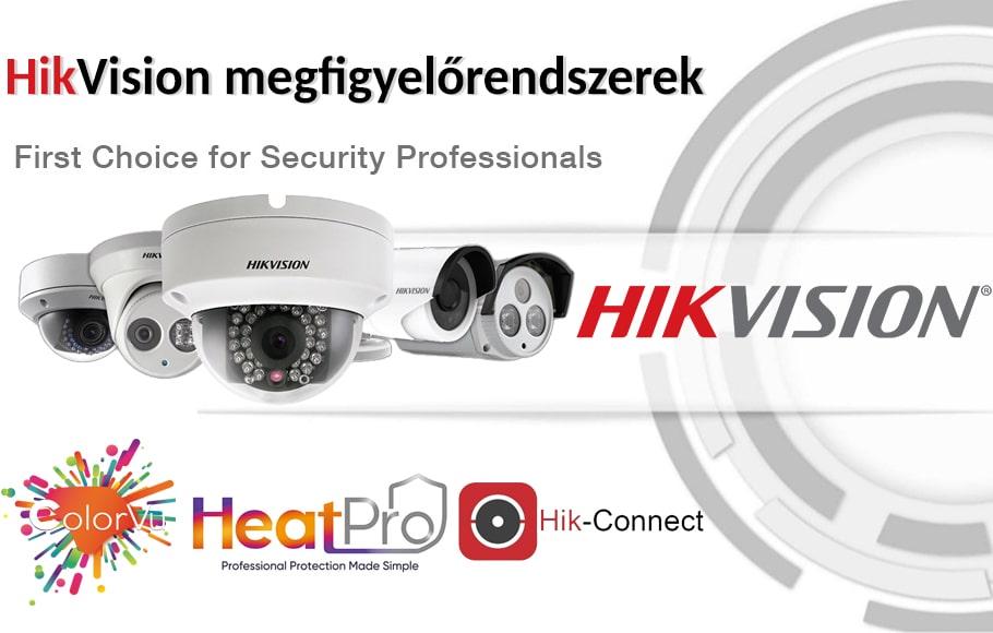 HikVision megfigyelő rendszerek