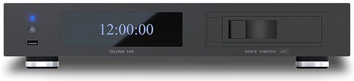 Dune HD Max Vision 4K előlap