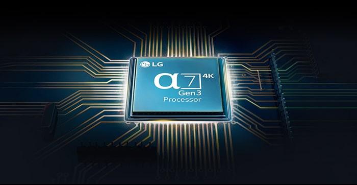 LG 3. generációs alpha processzor