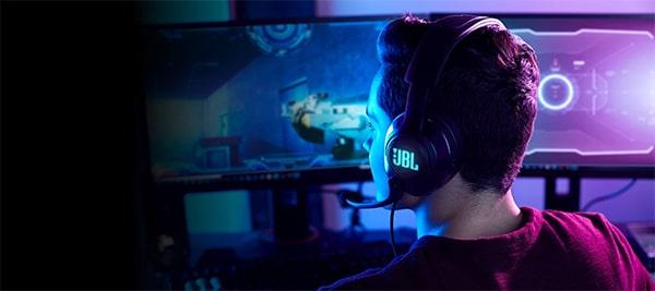JBL Quantum 100 Gamer fejhallgató