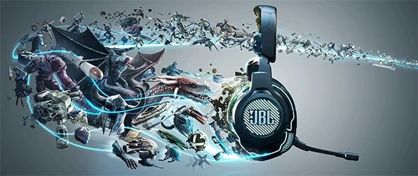 JBL Quantum 800 Wireless Gamer fejhallgató zajszűréssel