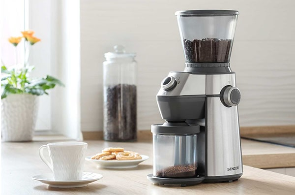 Sencor SCG 6050SS elektromos kávédaráló