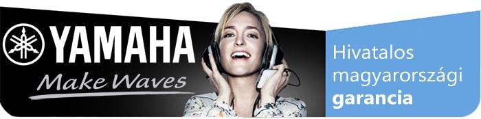 Yamaha termékek hivatalos magyar garanciával